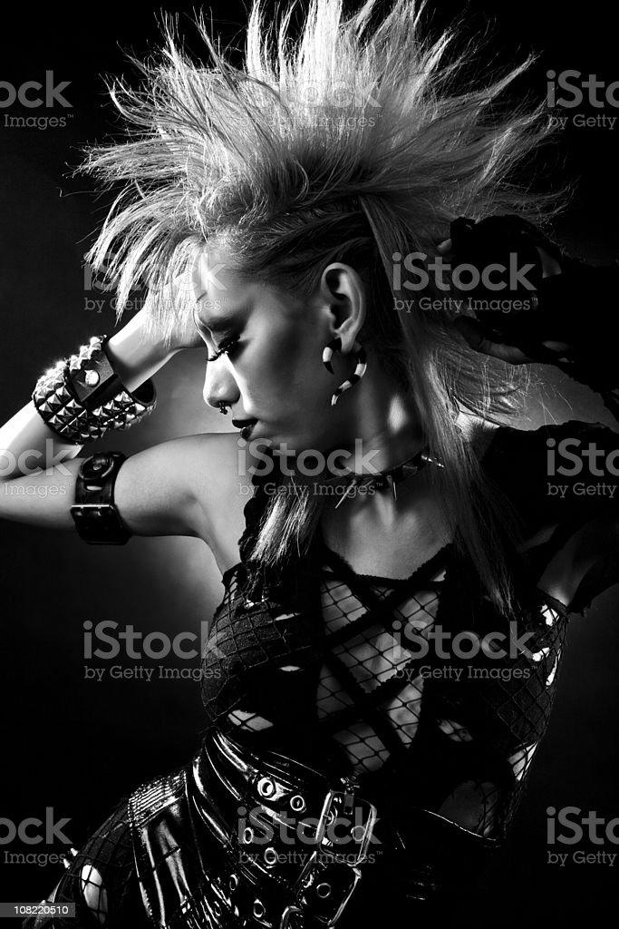 Gothic Punk stock photo
