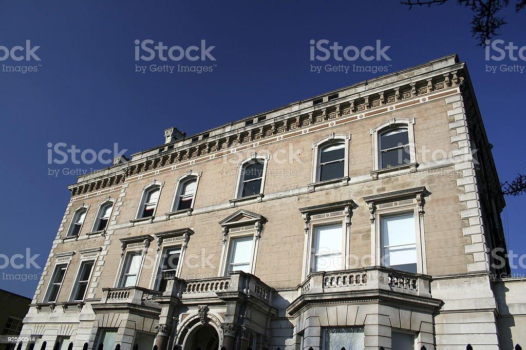 Gothic Style Apartment Block London royalty-free stock photo