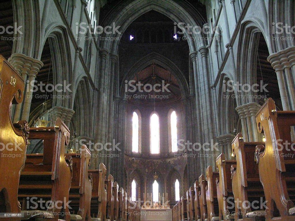 Gothic Style Saint Marys Cathedral Ireland stock photo