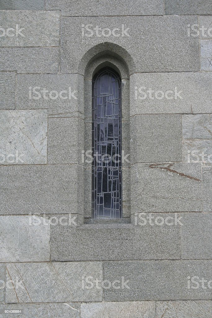 Gothic window 2 royalty-free stock photo