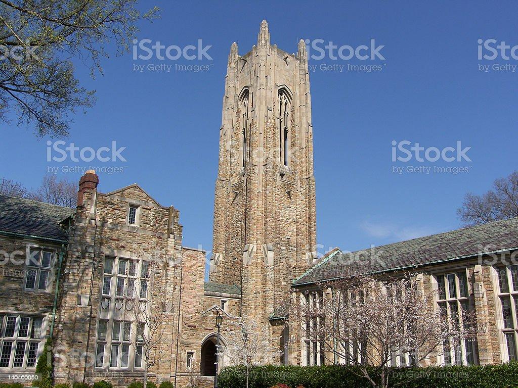 Gothich Church Tower stock photo