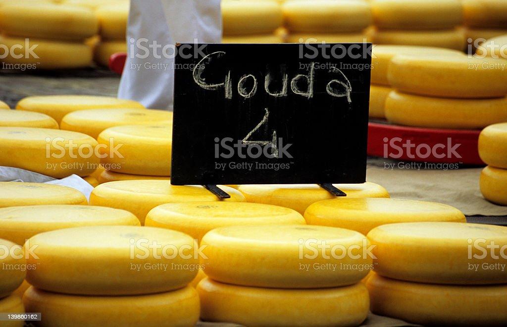 Gouda 4 You royalty-free stock photo