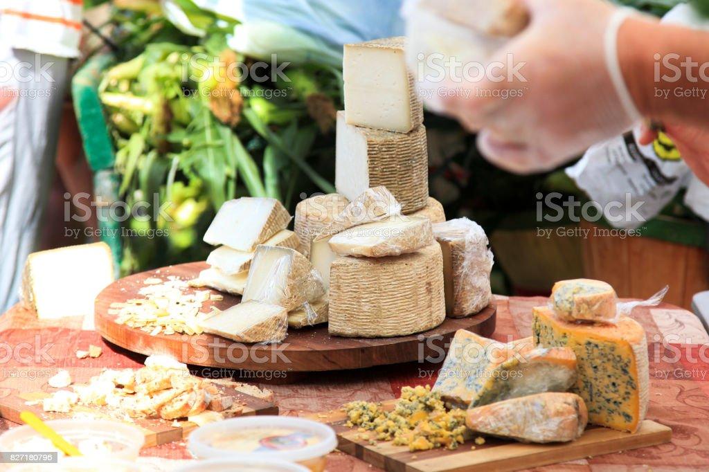 Gouda Cheese stock photo