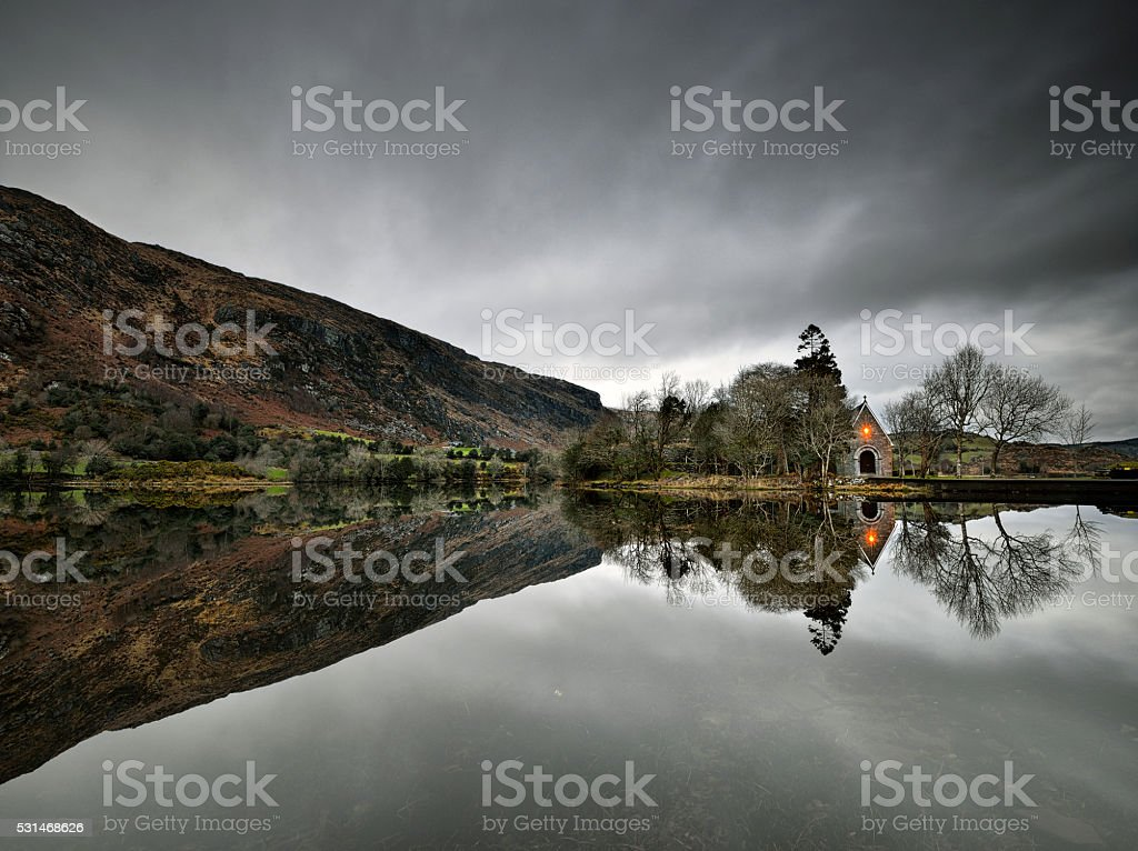 Gougane Barra stock photo