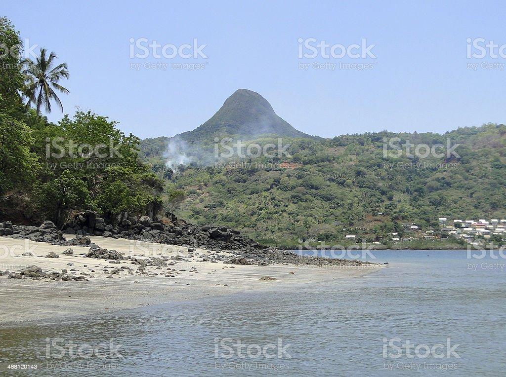 N'Gouja Beach stock photo