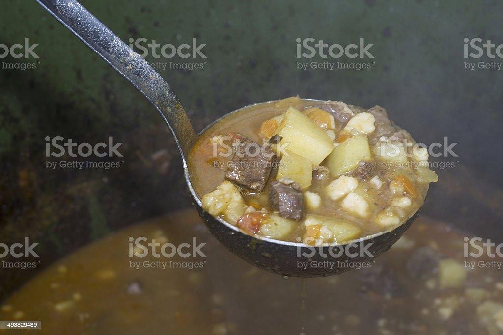 Goulash Hungarian Cuisine, Hungray stock photo