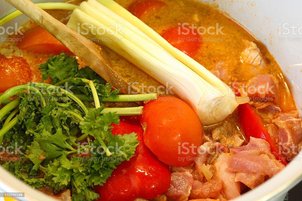 Goulash Soup royalty-free stock photo