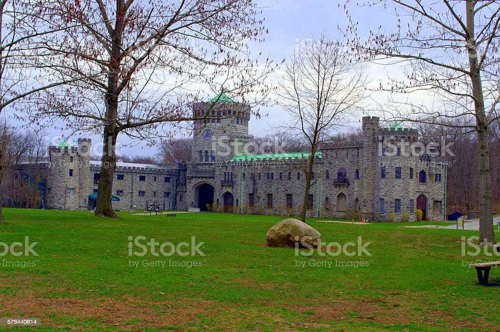 Gould Castle stock photo