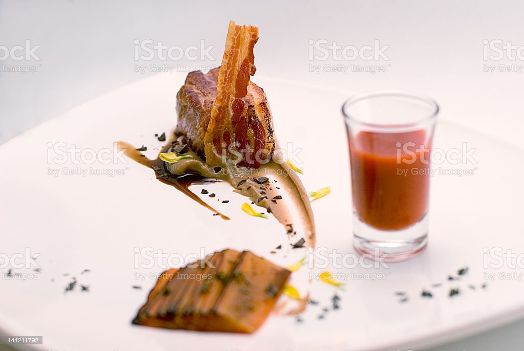 Gourmet 1 royalty-free stock photo