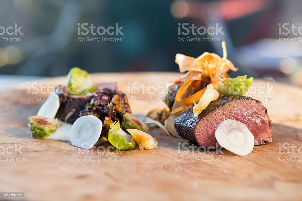 Gourmet Bbq stock photo