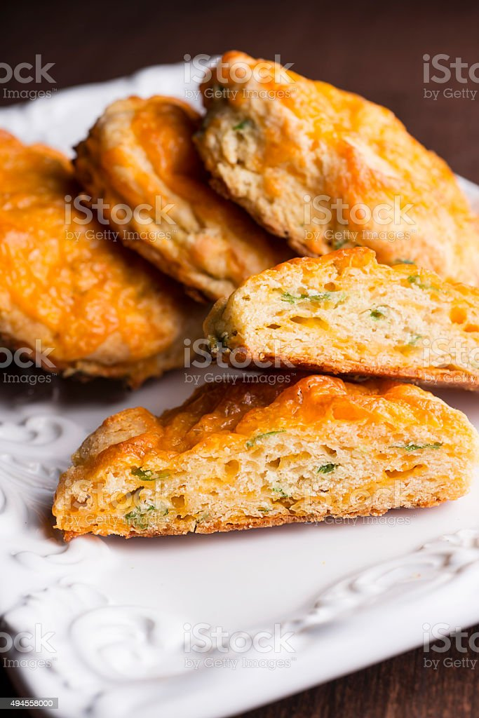 Gourmet Biscuits stock photo