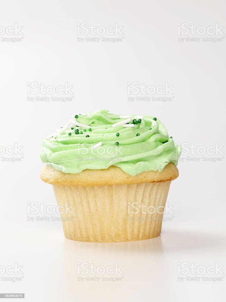Gourmet Buttercream Cupcake stock photo