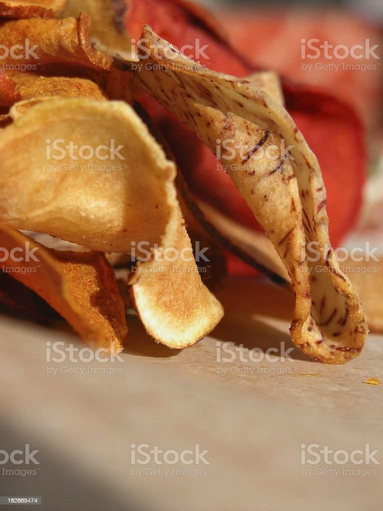 Gourmet Chips royalty-free stock photo