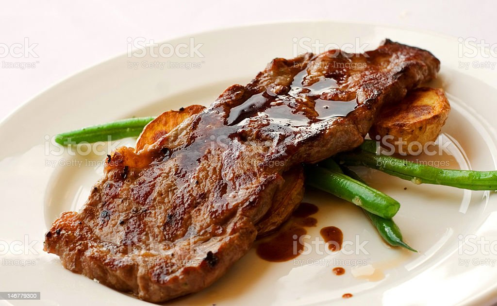Gourmet Filet Mignon Steak royalty-free stock photo
