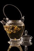 Gourmet flower of tea