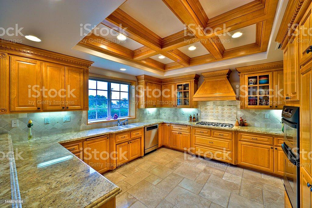 Gourmet Kitchen 1 stock photo