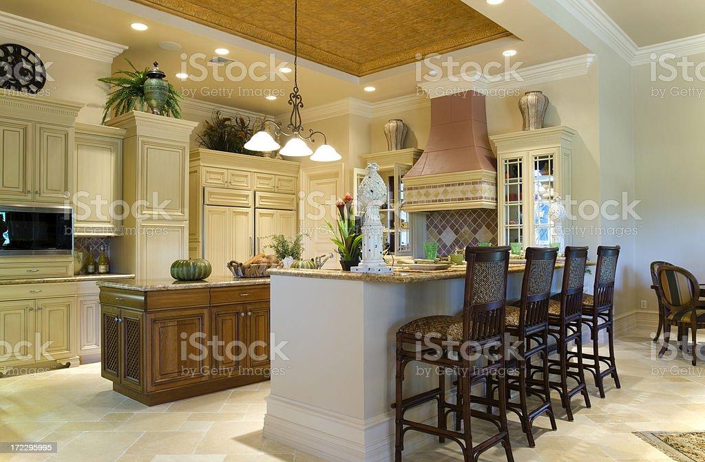 Gourmet Kitchen stock photo