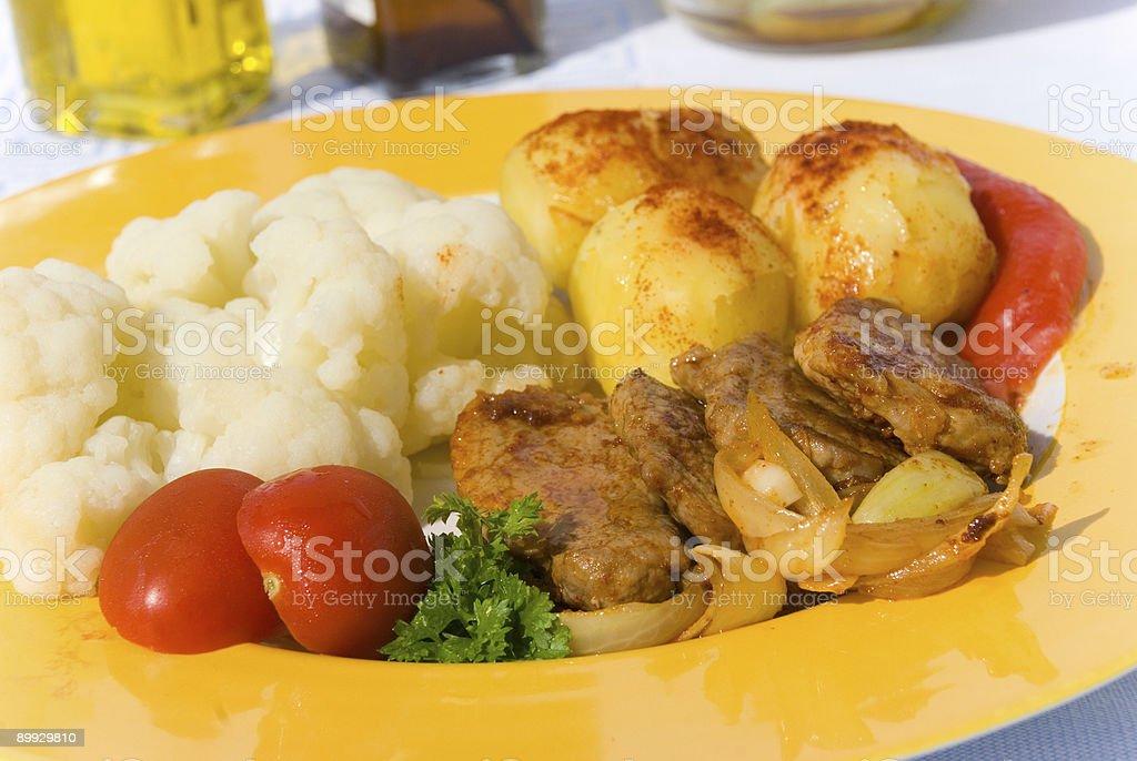 Gourmet Medaillons -Sirloin-tenderloin 3 royalty-free stock photo