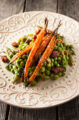 Gourmet Peas and Carrots