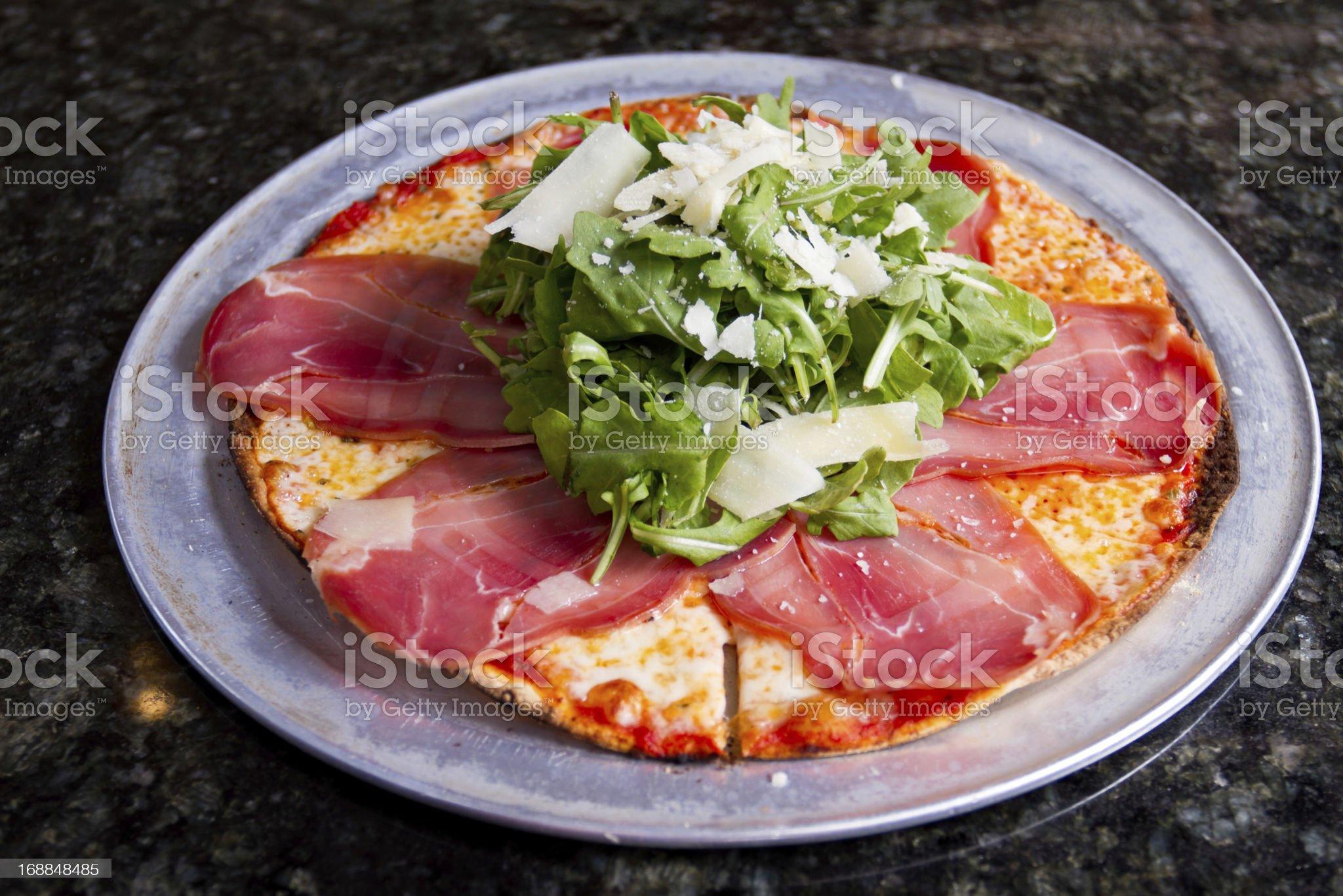 Gourmet Pizza royalty-free stock photo