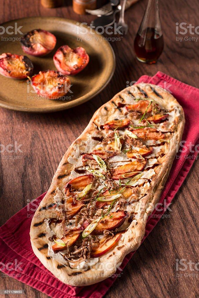 Gourmet Pizza stock photo