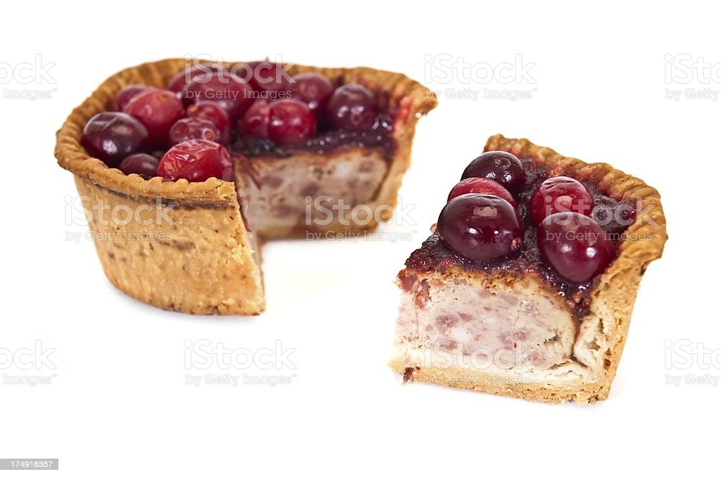 Gourmet Pork Pie royalty-free stock photo