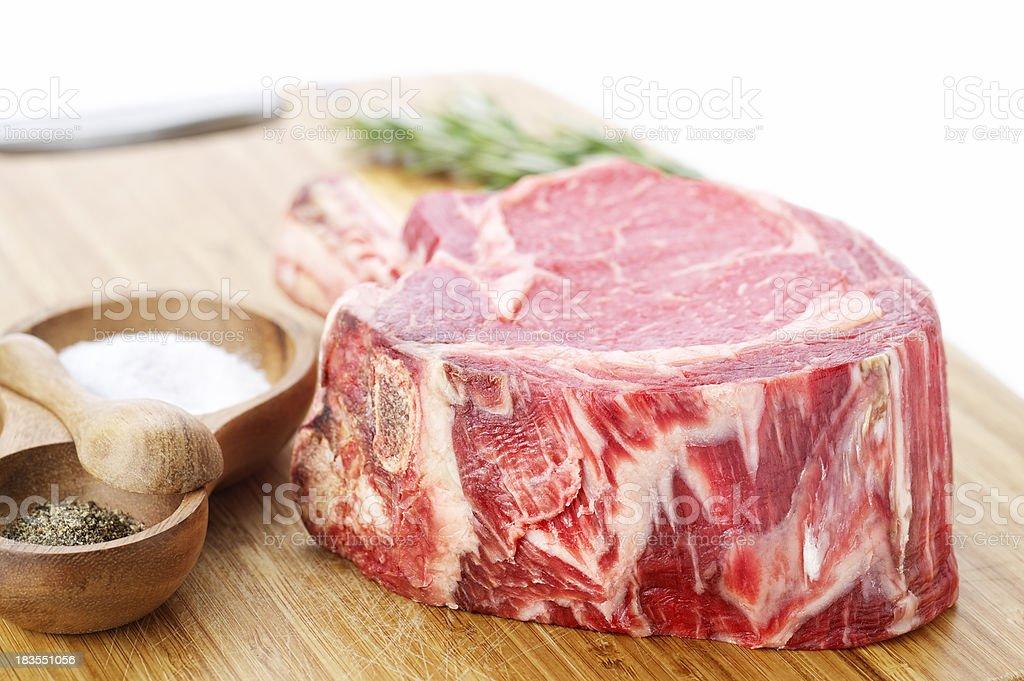 Gourmet Ribeye Steak stock photo