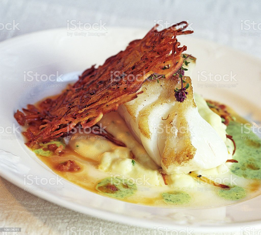 Gourmet seafood royalty-free stock photo