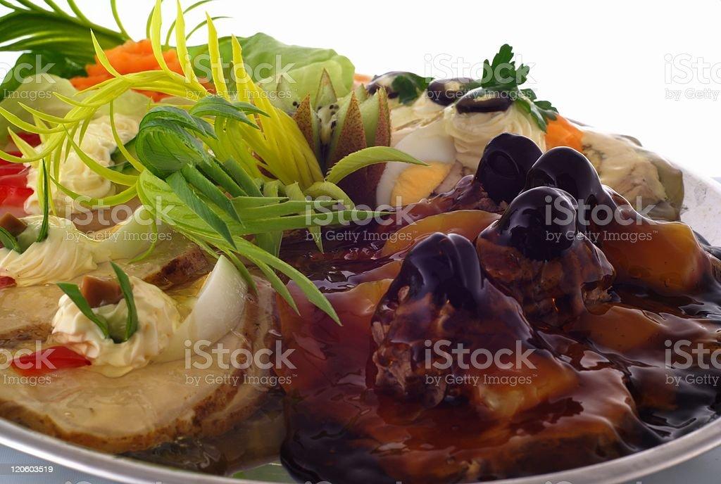 Gourmet - snacks stock photo