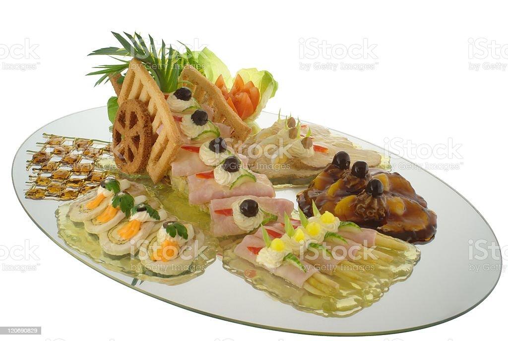Gourmet - snacks royalty-free stock photo