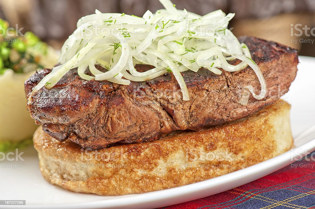Gourmet steak meat royalty-free stock photo