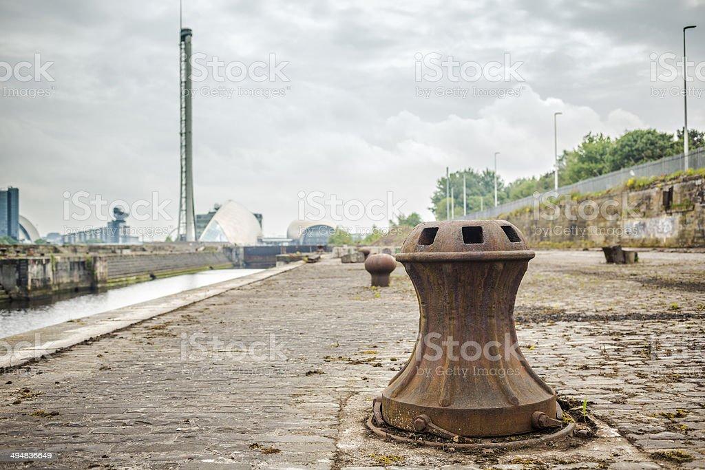 Govan Graving Docks, Glasgow stock photo