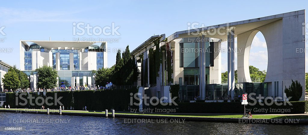 Governement Building, Berlin royalty-free stock photo