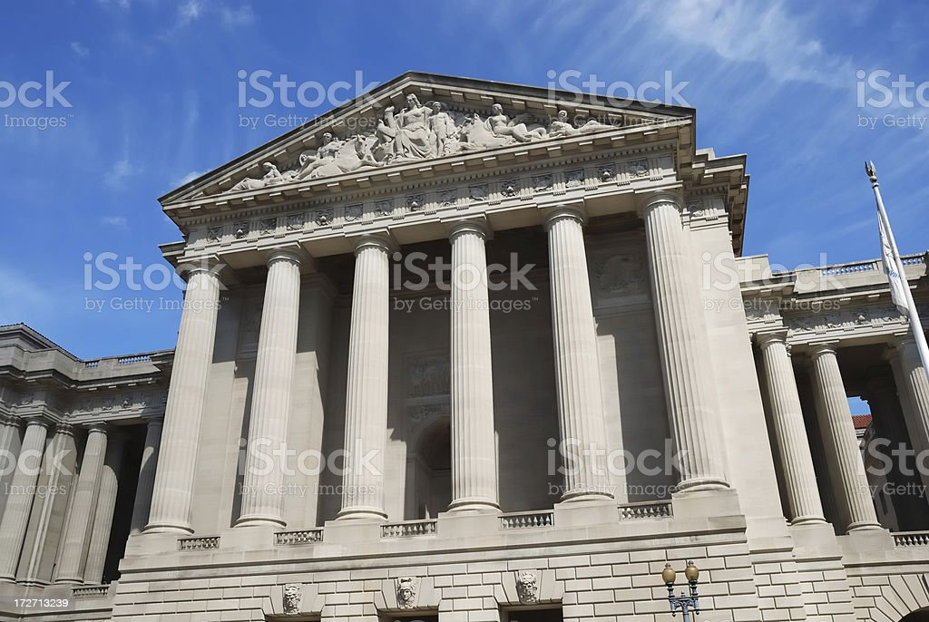 Government Building Exterior Facade stock photo