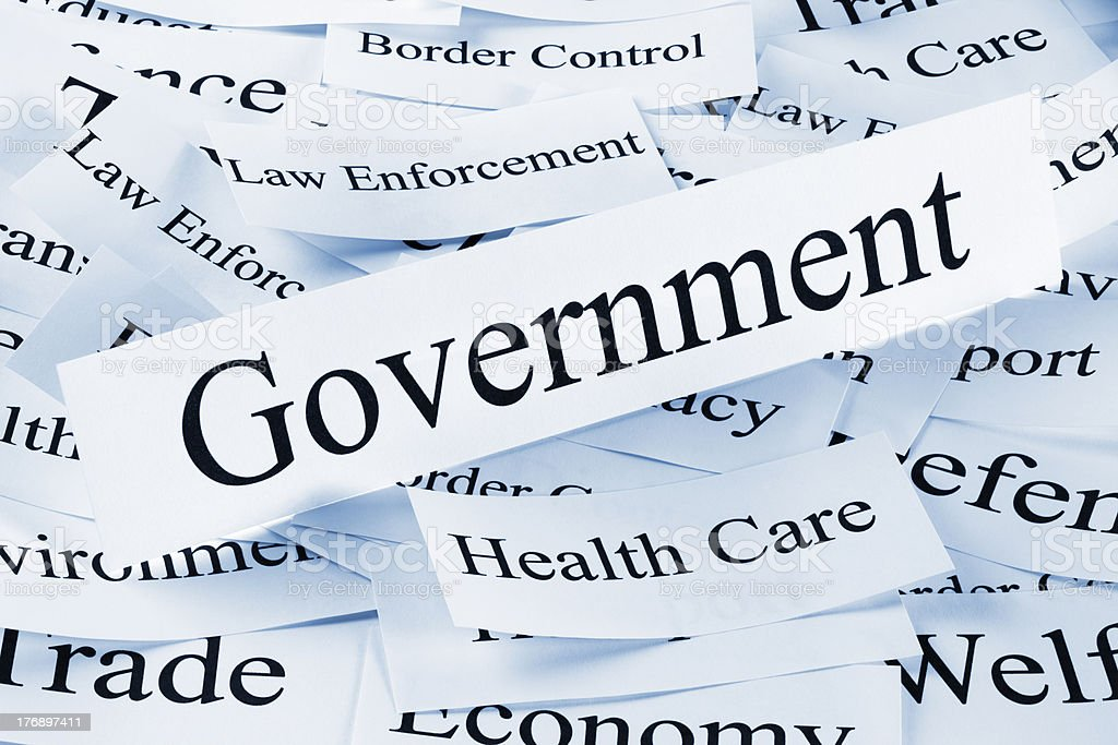 Government Concept royalty-free stock photo