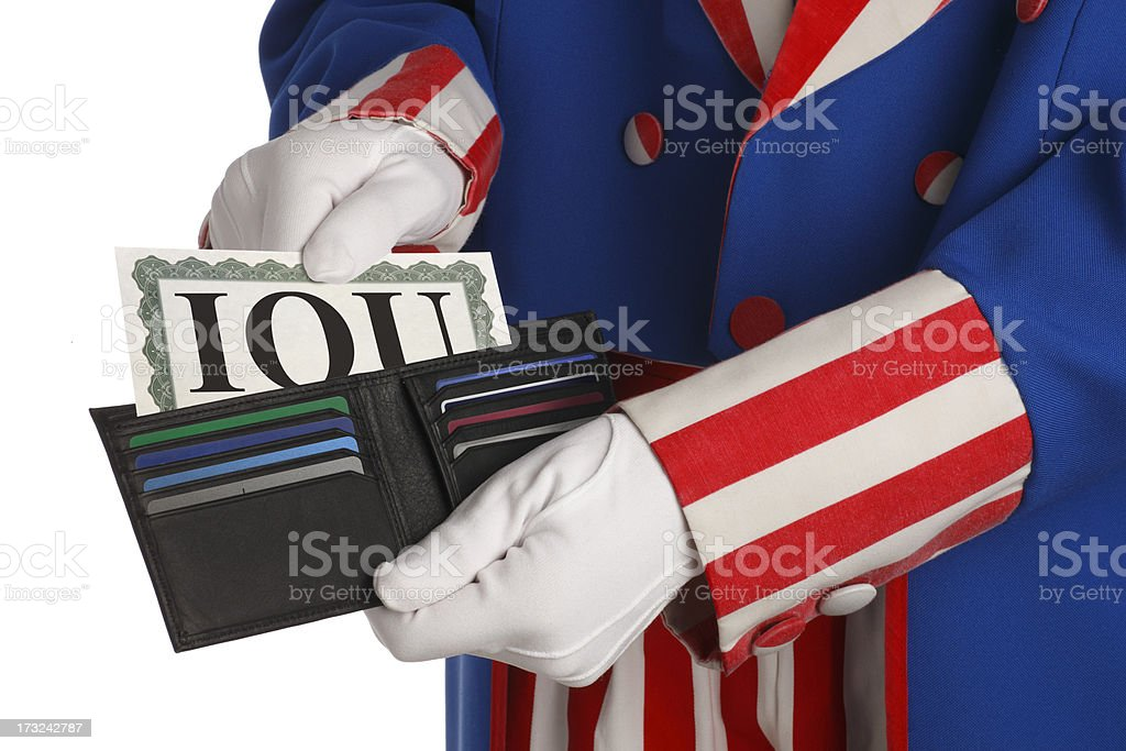 Government Debt royalty-free stock photo