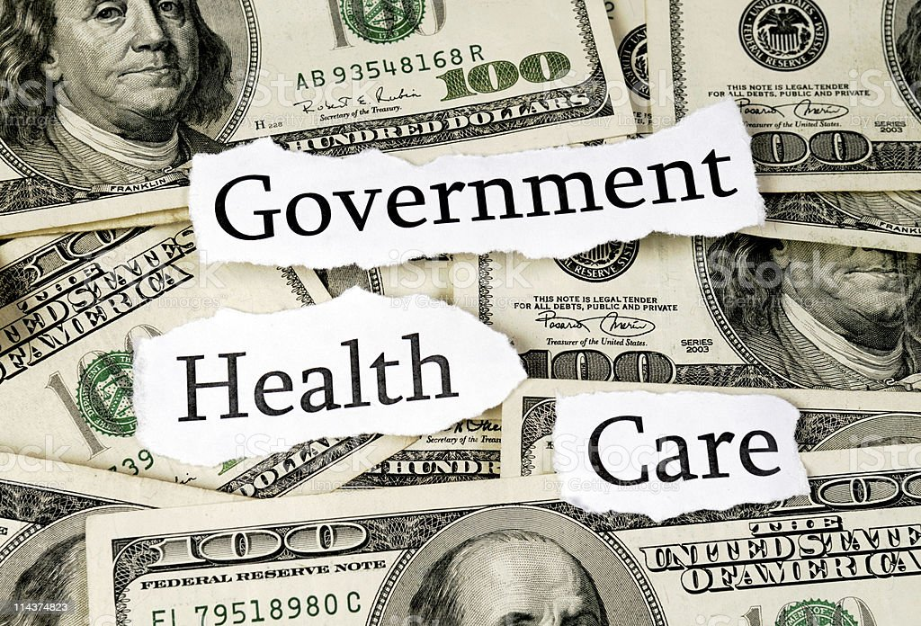 Government Health Care royalty-free stock photo