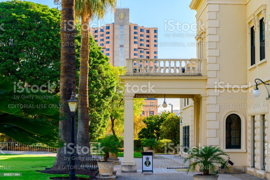Government House, Adelaide stock photo