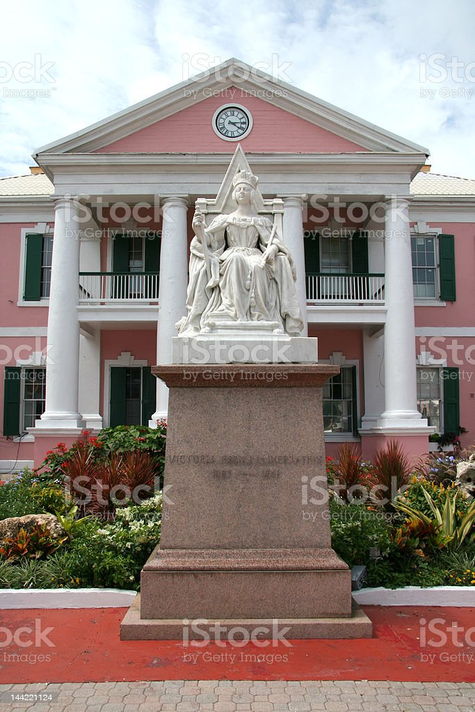 Government House (Parliament) in Rawson Square royalty-free stock photo