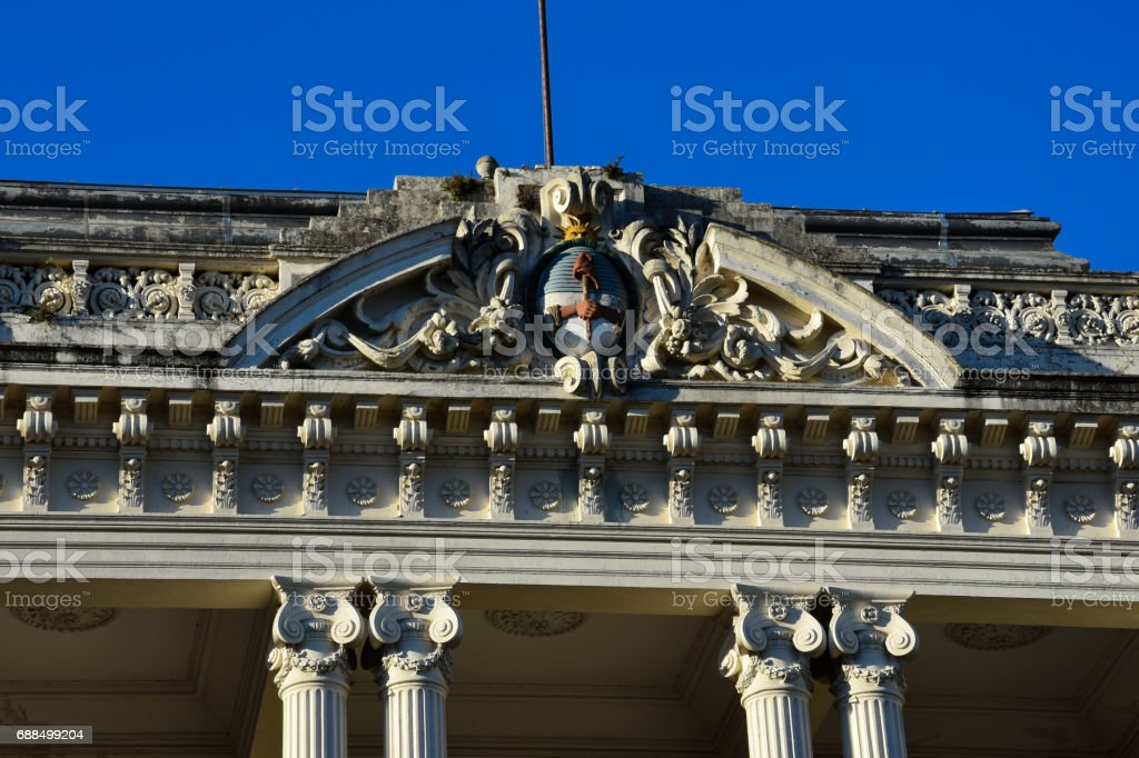 Government House of the Province of Buenos Aires stock photo