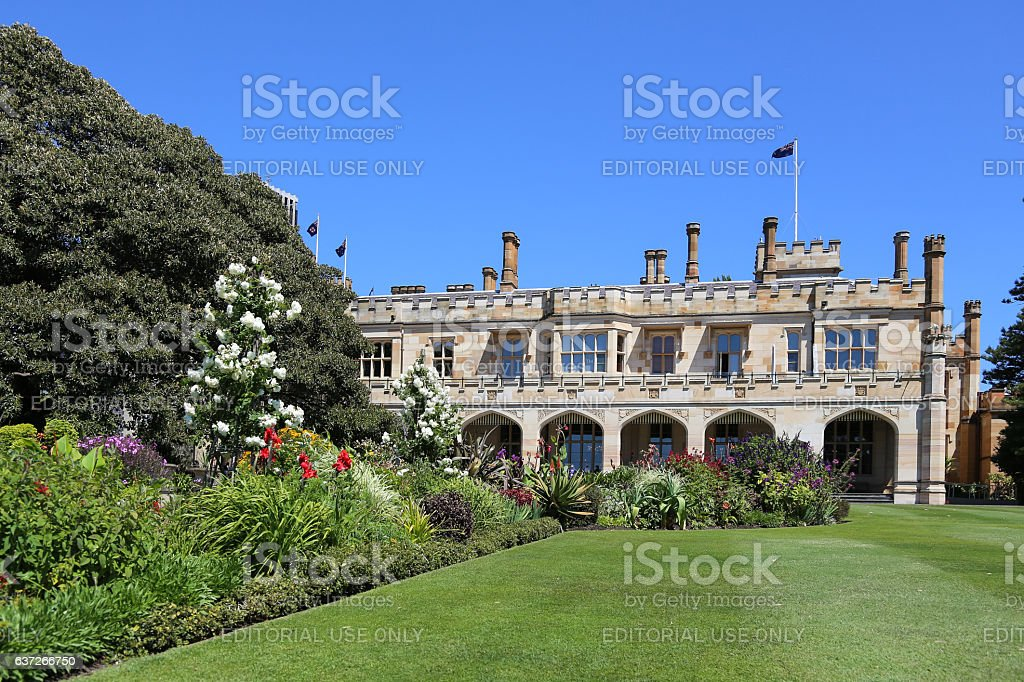 Government House stock photo