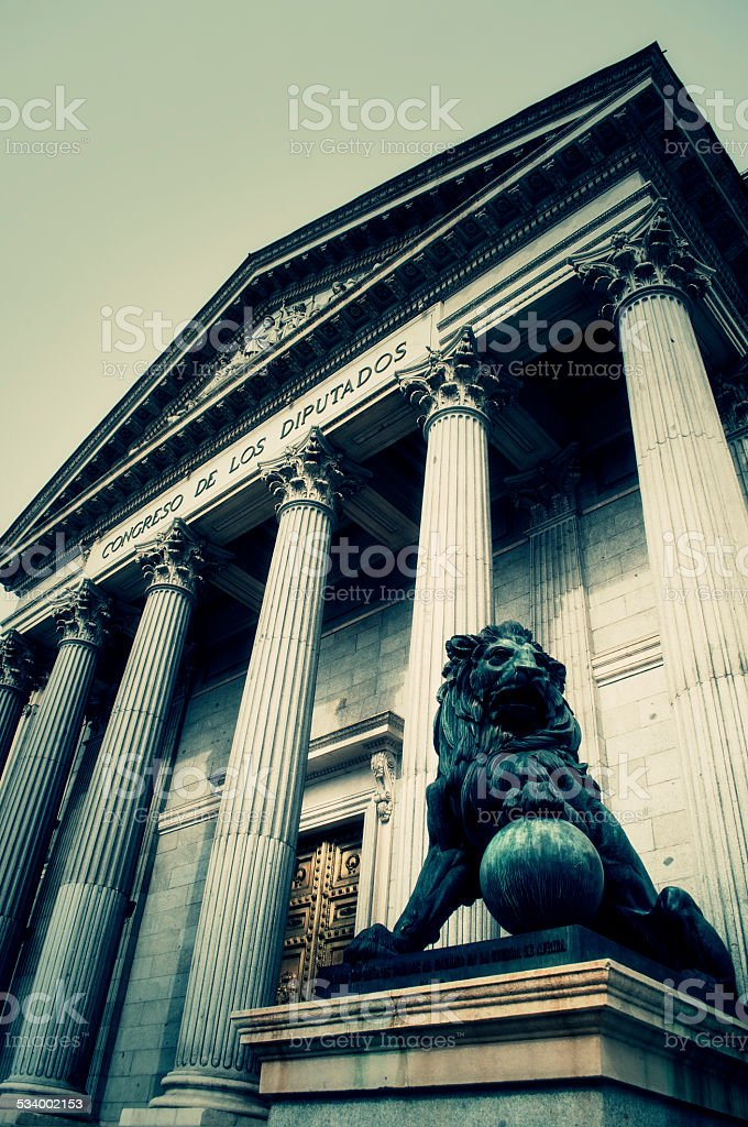 Government of Spain stock photo