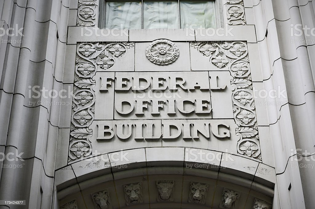 Government Offices royalty-free stock photo