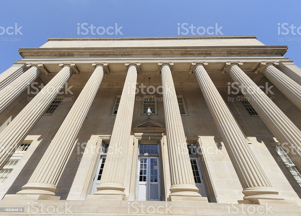 Government or public building stock photo