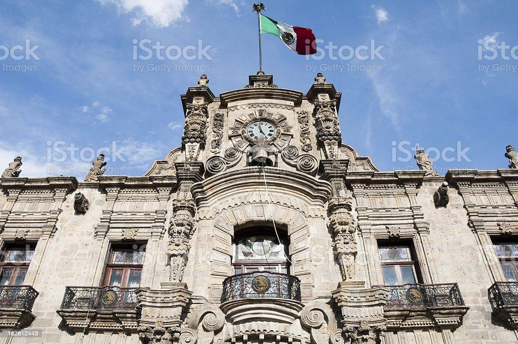 Government Palace, Guadalajara (Mexico) stock photo
