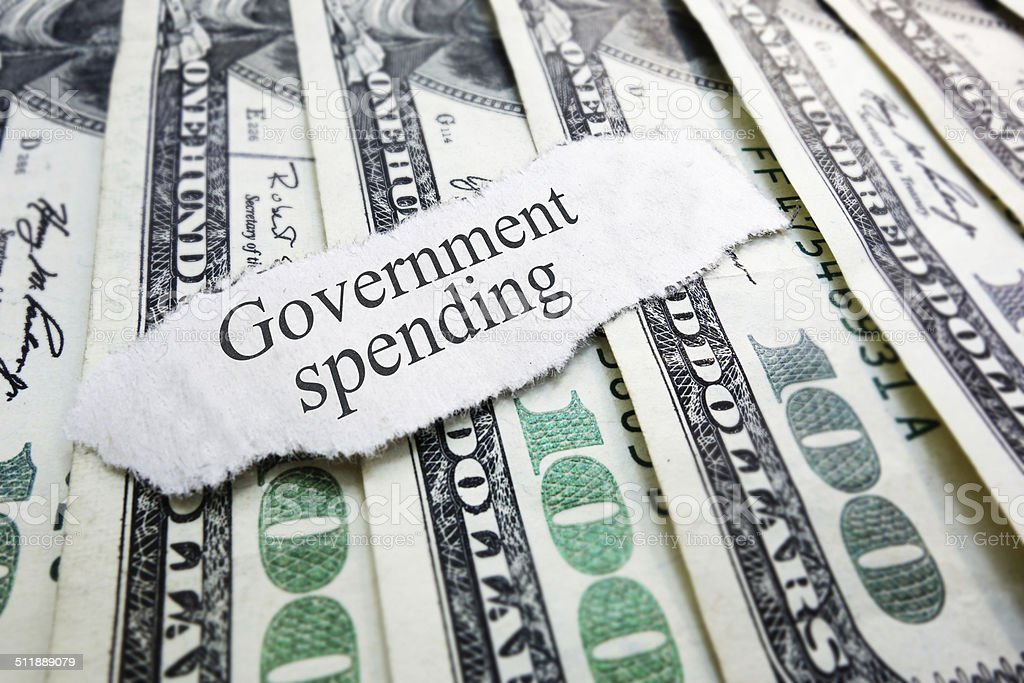 government spending stock photo