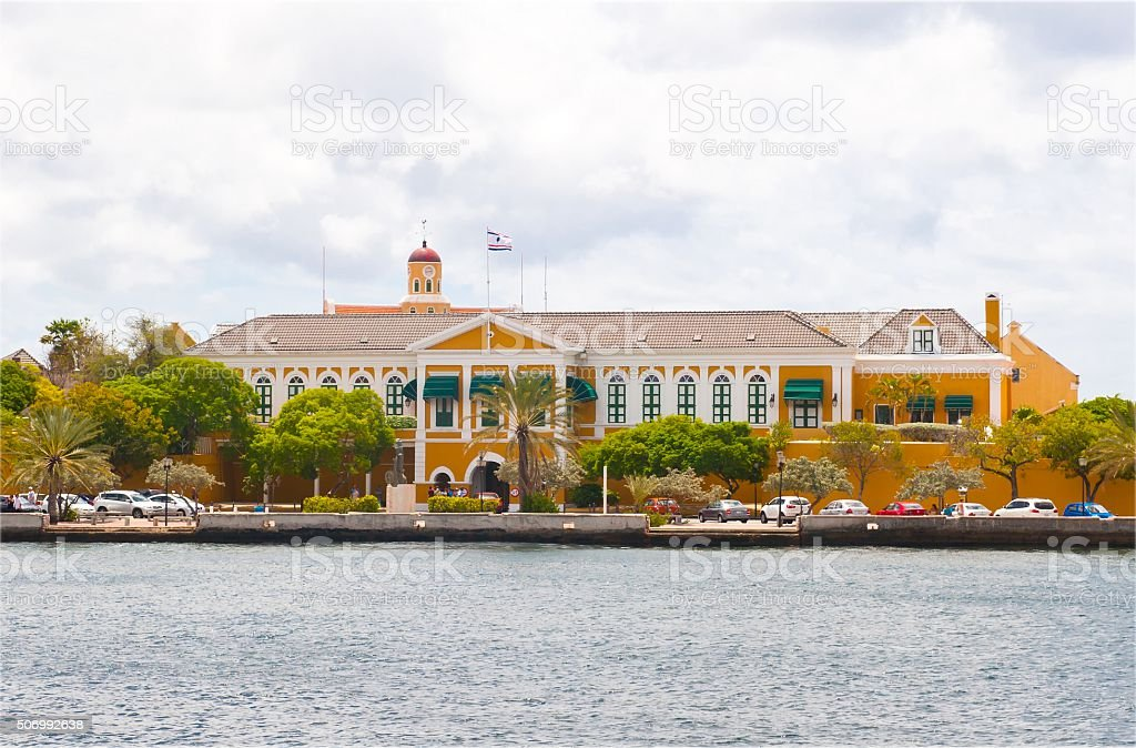 Governor Palace Curacao stock photo