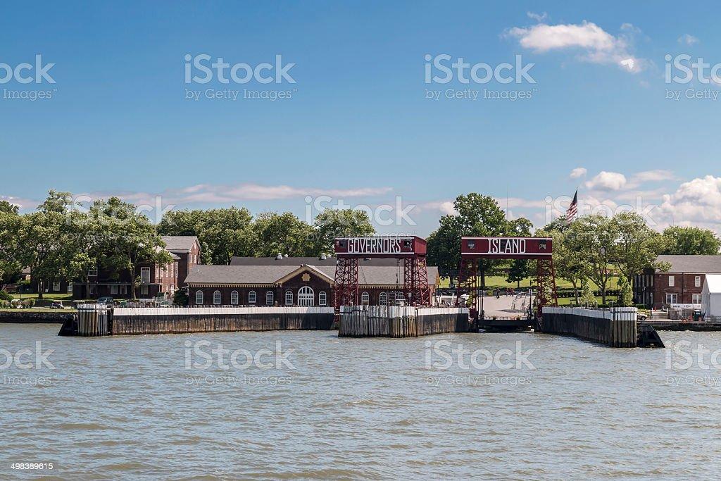Governors Island - New York City stock photo
