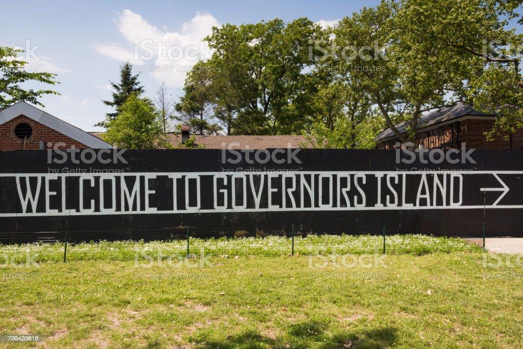 Governors Island stock photo