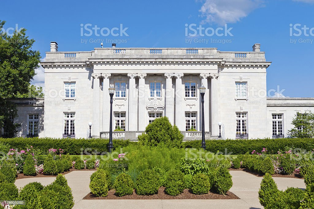 Governor's Mansion In Frankfort, Kentucky royalty-free stock photo
